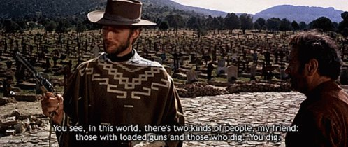 You Dig Those With Loaded Guns GIF