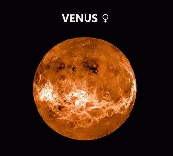 Planeta Venus GIF