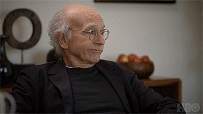 Larry David Sigh GIF by Cur...
