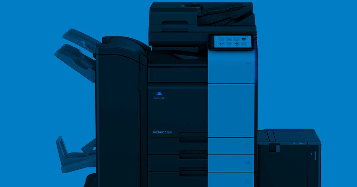 Image for the Tweet beginning: Konica Minolta Expands bizhub® i-Series