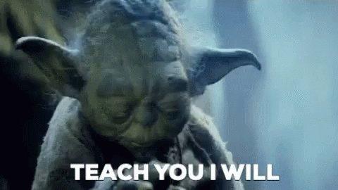 Teach You Yoda GIF