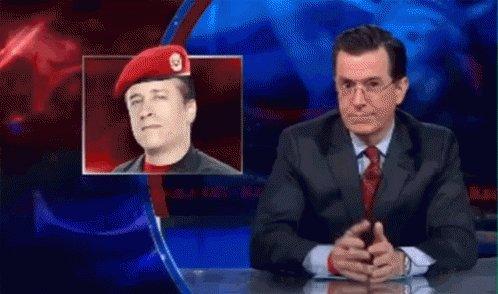 Stephen Colbert Salute GIF