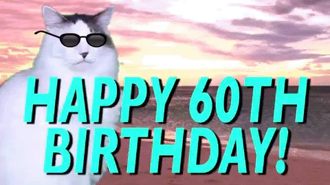 Happy Birthday Ed!  60 doesn t seem that old anymore. Hope you have a great, normal day!