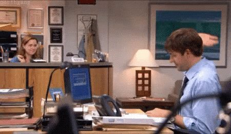 The Office High Five GIF