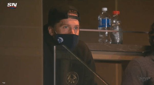 Sportsnet 650 On Twitter Stressed Upside Down Mask Jacob Markstrom Is Every Canucks Fan Right Now
