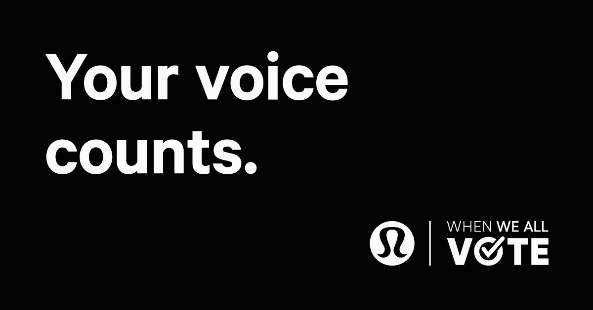 Our commitment to Inclusion, Diversity, Equity, and Action is why we're partnering with @WhenWeAllVote and donating $250,000 to help them increase voter turnout. We're also encouraging employees to volunteer and closing stores early on election day, so all voices are counted.