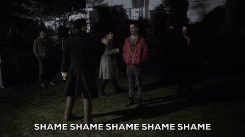 shame shaming GIF by What W...