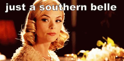 Southern Belle GIF