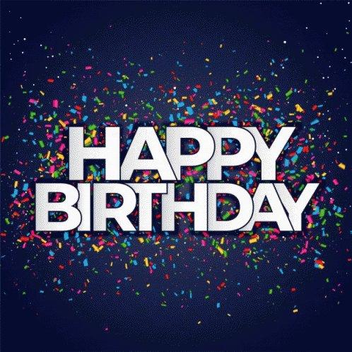 Happy Birthday !! Enjoy a lot!