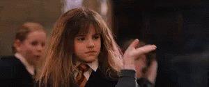 Hermione Smells It - Stinky GIF