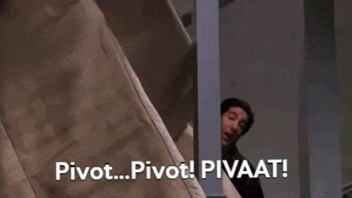 Ross Pivot Friends GIF