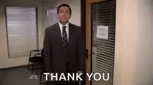 The Office Bow GIF