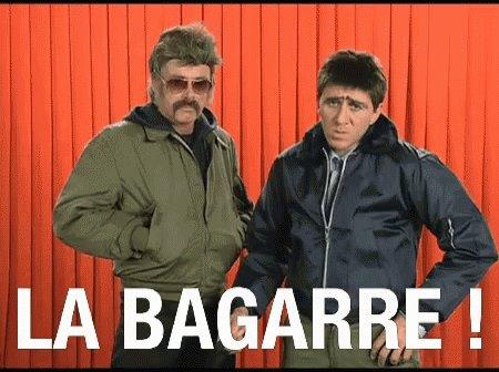 Bagarre Baston GIF