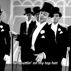 fred astaire fancy GIF