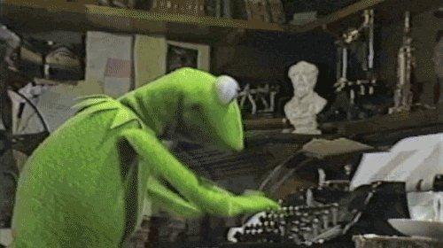 Kermit The Frog Reaction GIF