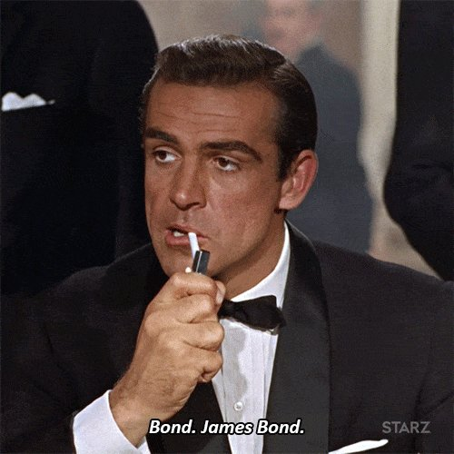 james bond GIF by STARZ