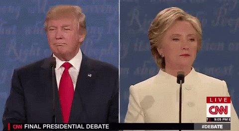 Final Presidential Debate GIF