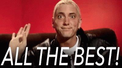 Happy birthday Eminem lady. Have a great one, Nikki.