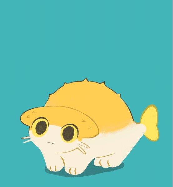 ハリセンボンの猫ちゃん
