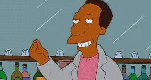Simpsons Muah GIF