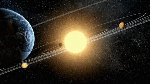 sun planets GIF by NASA