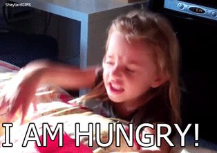 hungry child GIF