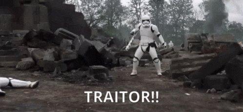 Traitor GIF by memecandy