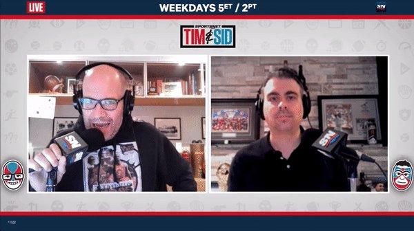We are LIVE! 🎙️🏡 Watch: @Sportsnet Listen: player.sportsnet590.ca Stream: now.sportsnet.ca #TimandSid