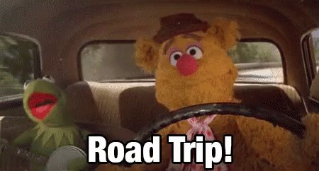 Road Trip Roadtrip GIF