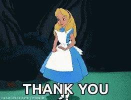Thank You Alice In Wonderla...