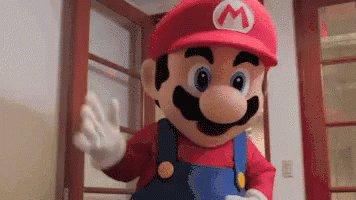 Mario What GIF