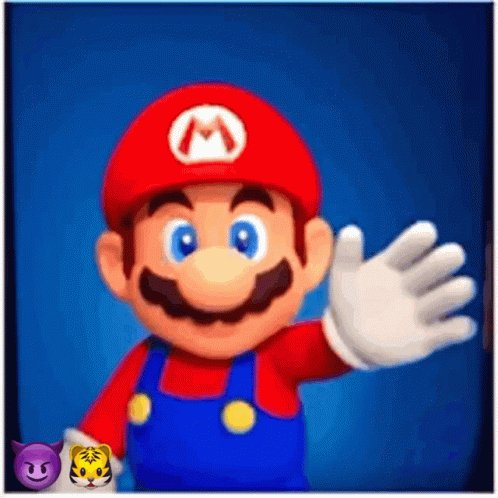 Super Mario Bros Hi GIF