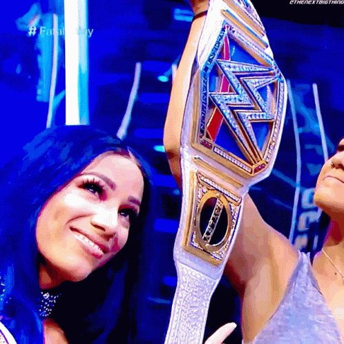 @WWE @VinaMkayce @itsBayleyWWE @SashaBanksWWE Its cool...as good as Sasha takes whippings, she gives them out even better...we'll c Bayley all crippled up soon...#BankOnDat #LegitBoss #DaStandard #DaBlueprint #BossEra #DaLeader #AndNew🦋💙💰🤑