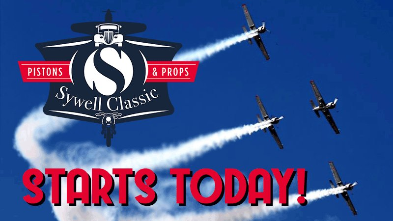 Image for the Tweet beginning: It's finally here, Sywell Classic