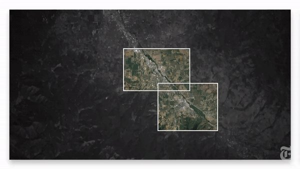 The Almeda Drive fire left a path of destruction as it tore through an #Oregon valley. Using satellite images, videos and social media posts, our video reconstructs what happened.  https://t.co/pvPowxPSMv https://t.co/qz8qVBTOl4