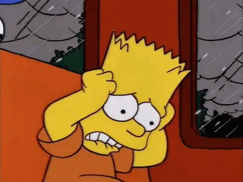 Bart The Simpsons GIF