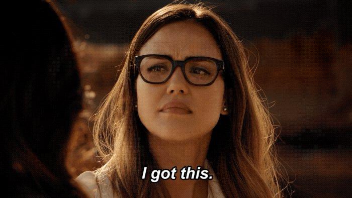 Me: No doubt, she got this. Also me: *nervous* #LAsFinest