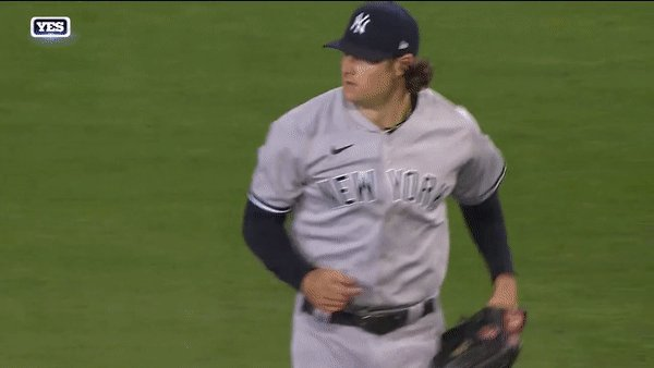 Gerrit Cole caps off his first season as a Yankee in dominant fashion 🔥  7 IP | 5 H | 1 ER | 0 BB | 7 K  #YANKSonYES #ColeTrain https://t.co/JMlXnw92vq