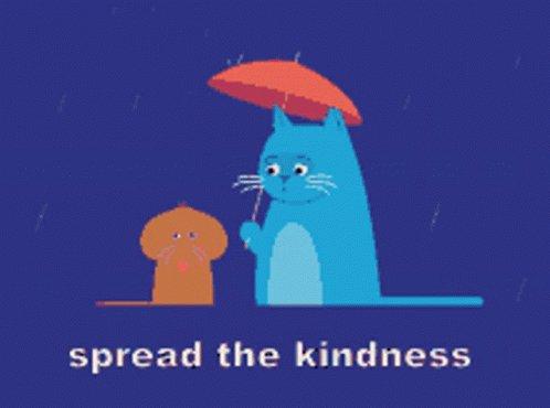 Cat And Umbrella Spread The...