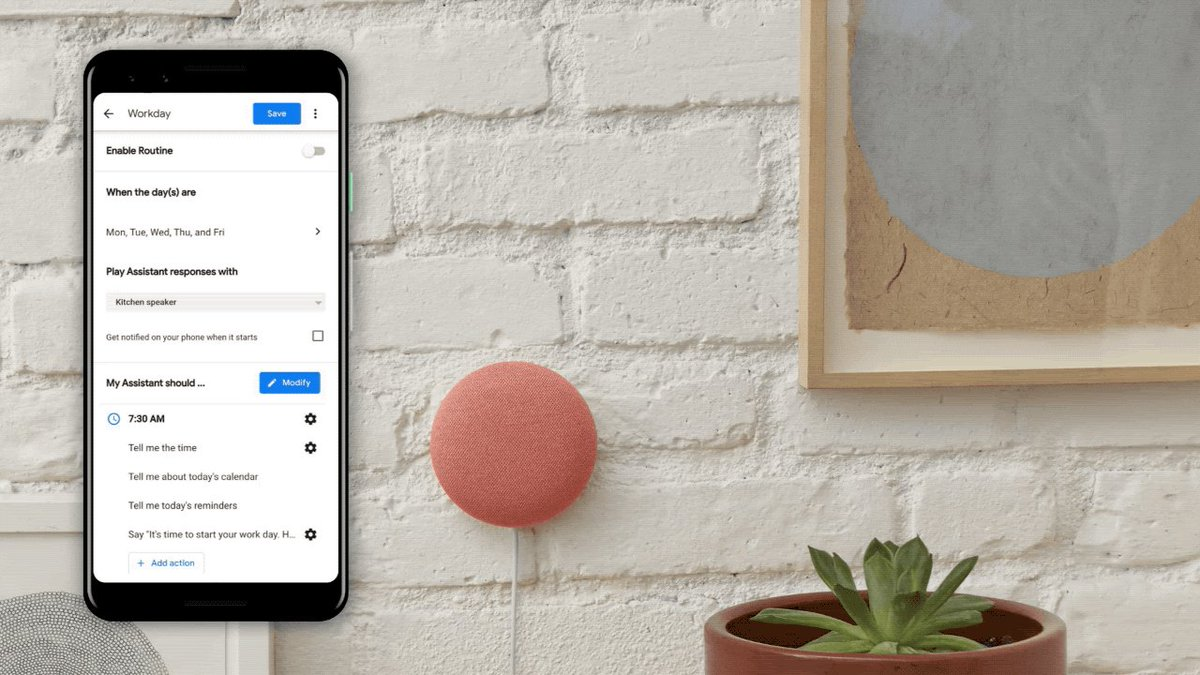 The Google Assistant is getting a routine to make working from home easier