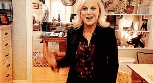 Leslie Knope from Parks and...