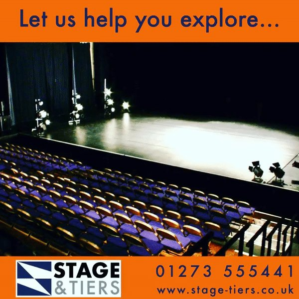 If it feels like a journey into the unknown… We're ready. When you're ready.  #Wespeakstage #scenechange #Metrodeck #staging #stage #seatingtiers #seating #greentheatre #sustainabletheatre #stagemanagement #stagemanager #installation #bespoke #theatretech #theatrearchitecture https://t.co/WKVP3RKY1l
