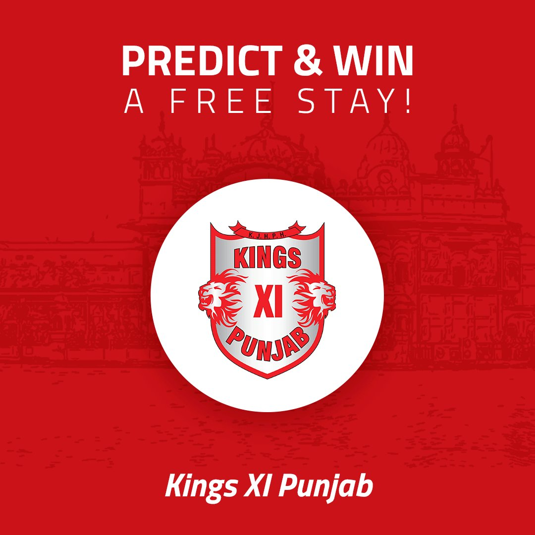 #ContestAlert - Predict & get a chance to win a FREE night stay and rewards worth Rs. 5000 from Myntra & more!*   - Comment below who will win #RCBvKXIP & tag five friends  - Follow us!  - RT  #IPL2020 #IPL   *T&C apply https://t.co/01ziTmvTmj