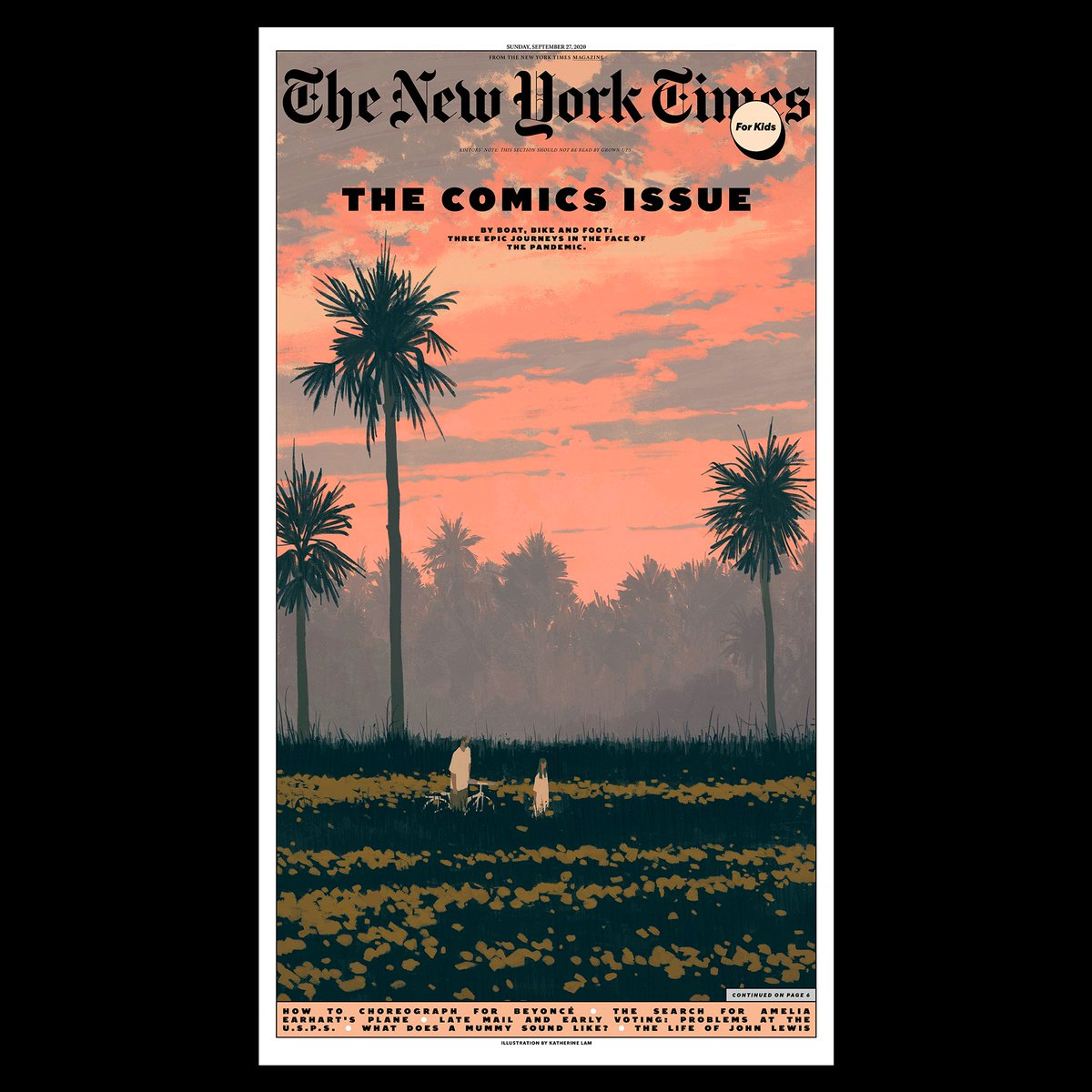 In your @nytimes this Sunday 9/27, our second annual ALL-COMICS ISSUE of The New York Times for Kids! https://t.co/KnKvAV42v9