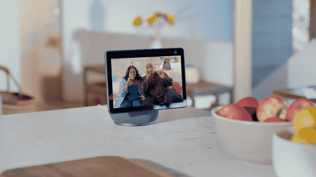 Amazon's new Echo Show 10 moves to look at you