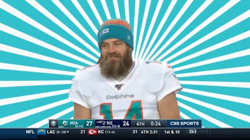 There's no stopping this man  #FinsUp https://t.co/ayZIrh9IAL