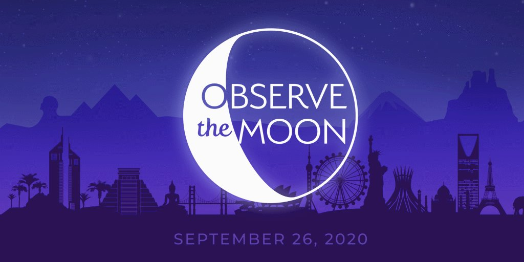 International #ObserveTheMoon Night is tomorrow! Join us for a live broadcast on @NASA TV and social media and ask us your questions with #AskNASA. https://t.co/hY3zoVheg1 https://t.co/VJec4jxwtC