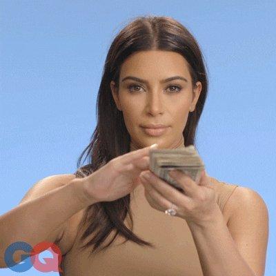 pay me kim kardashian GIF by GQ