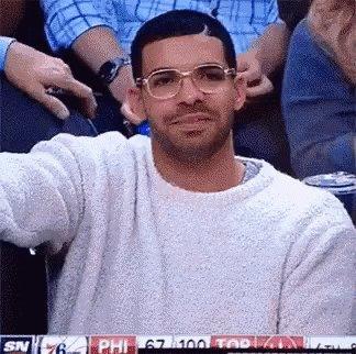 Clapping Drake GIF