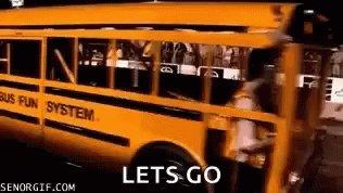 Bus School Bus GIF